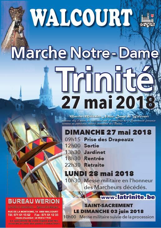 Affiche Trinité Walcourt 2018